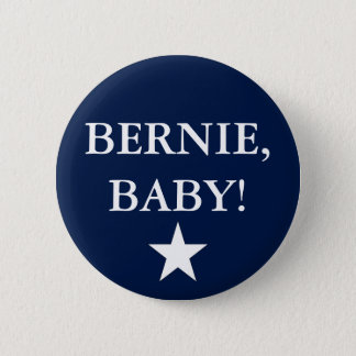 Bernie, Baby! 2 Inch Round Button