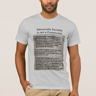 #Bernie Democratic Socialist Education T-Shirt
