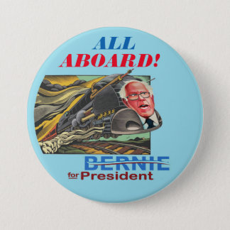 Bernie for President Express 3 Inch Round Button