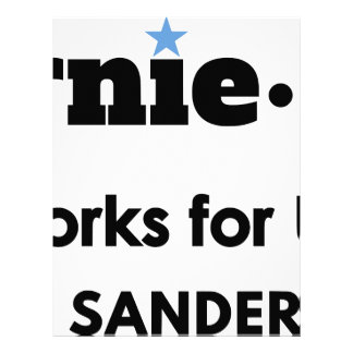 Bernie.ism Works for Us! Personalized Letterhead