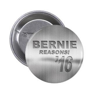 Bernie - Reasons! '16 2 Inch Round Button