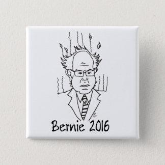 Bernie Sanders 2016 2 Inch Square Button