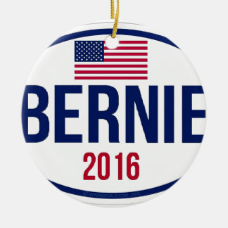 Bernie Sanders 2016 Ceramic Ornament