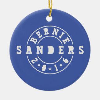 Bernie Sanders 2016 Round Ceramic Ornament