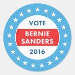 Bernie Sanders 2016 Round Sticker