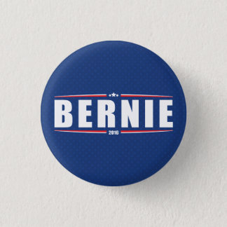 Bernie Sanders 2016 (Stars & Stripes - Blue) 1 Inch Round Button