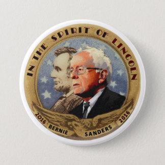 Bernie Sanders & Abe 3 Inch Round Button