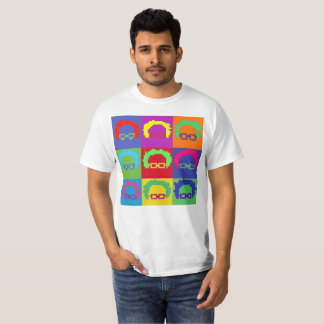 Bernie Sanders Art Pixel 8bit T-Shirt
