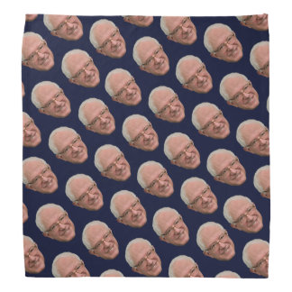 Bernie Sanders Bandanna Navy Blue feel the bern!
