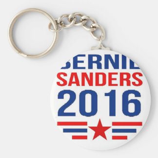 Bernie Sanders Basic Round Button Keychain