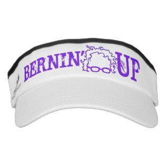 Bernie Sanders Bernin' UP politics democrat Bern Visor