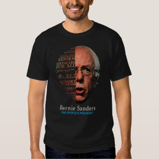Bernie Sanders Berning Issues Tshirt
