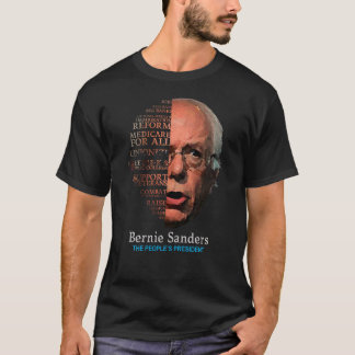 Bernie Sanders Berning Issues Tshirt