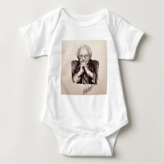 Bernie Sanders by Billy Jackson Baby Bodysuit