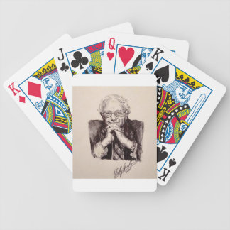 Bernie Sanders by Billy Jackson Bicycle Playing Cards