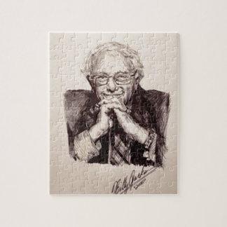 Bernie Sanders by Billy Jackson Jigsaw Puzzle