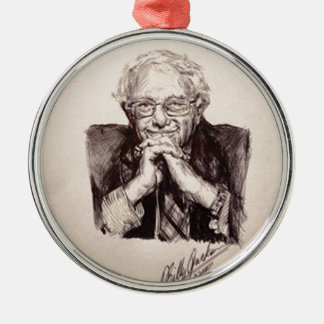Bernie Sanders by Billy Jackson Metal Ornament