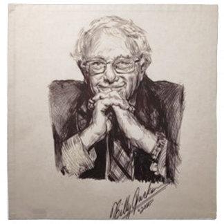 Bernie Sanders by Billy Jackson Napkin
