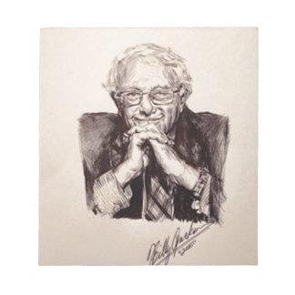 Bernie Sanders by Billy Jackson Notepad