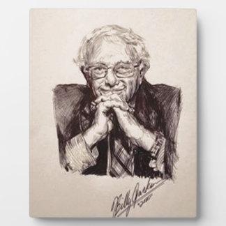 Bernie Sanders by Billy Jackson Plaque