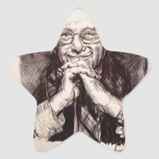 Bernie Sanders by Billy Jackson Star Sticker