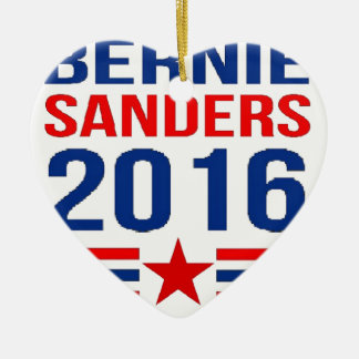Bernie Sanders Ceramic Ornament