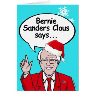 Bernie Sanders Christmas Card - Bernie Sanders Cla