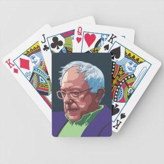 Bernie Sanders -col Bicycle Playing Cards