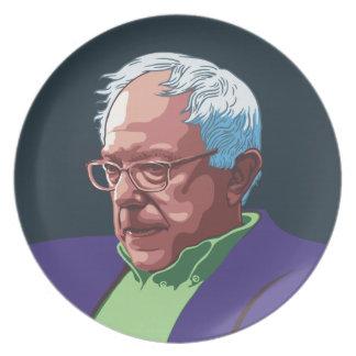 Bernie Sanders -col Plate