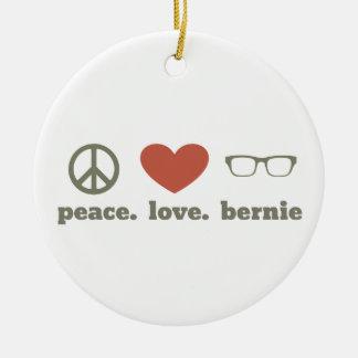 Bernie Sanders Election Swag Round Ceramic Ornament