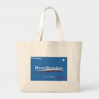 Bernie Sanders Feel the Bern Large Tote Bag