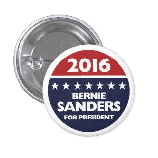 Bernie Sanders for president 2016 1 Inch Round Button