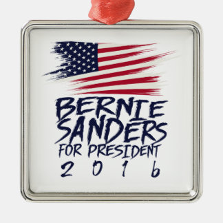 Bernie Sanders for president 2016 Metal Ornament