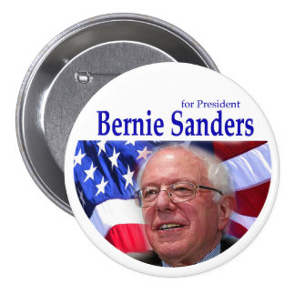 BERNIE SANDERS for President 3 Inch Round Button