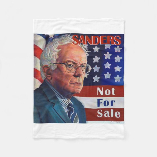 Bernie Sanders for President Fleece Blanket