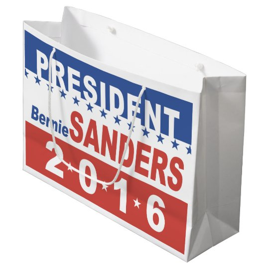 Bernie Sanders for President Large Gift Bag