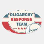 Bernie Sanders for President Oval Sticker