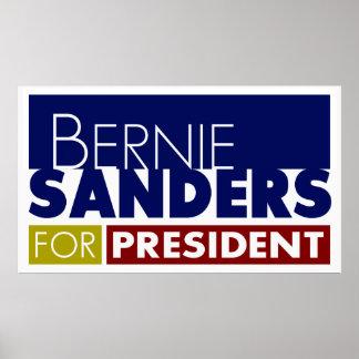 Bernie Sanders for President Poster V1