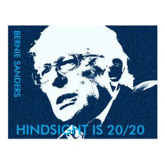"Bernie Sanders  ""HINDSIGHT IS 20/20 Postcard"