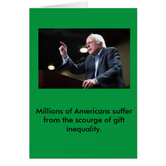 Bernie Sanders Holiday Card