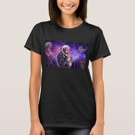 Bernie Sanders Loves Kitties T-Shirt