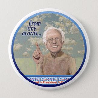Bernie Sanders plants the seeds in Iowa 2016 4 Inch Round Button