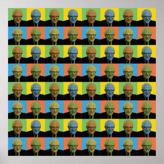 Bernie Sanders Pop-Art Poster