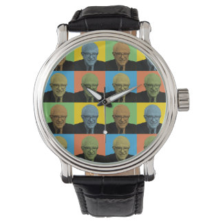 Bernie Sanders Pop-Art Wrist Watches