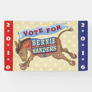 Bernie Sanders President 2016 Democrat Donkey Banner