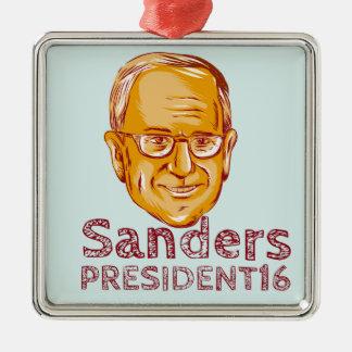 Bernie Sanders President 2016 Metal Ornament
