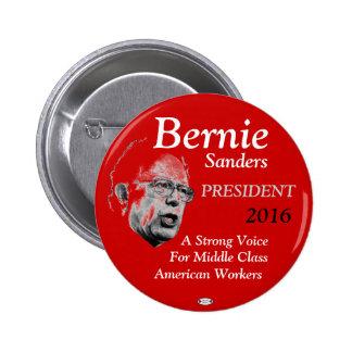 Bernie Sanders President 2016 pinback button