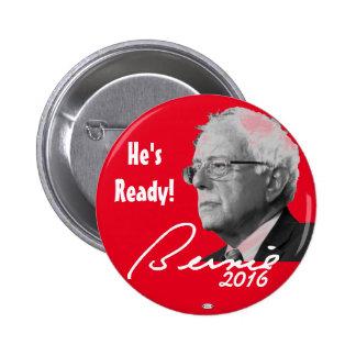 Bernie Sanders President 2016 Political Button