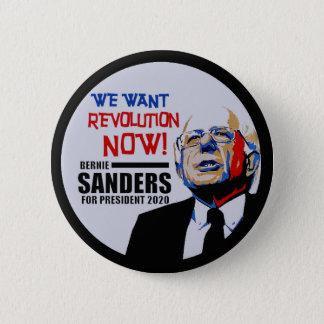 Bernie Sanders President 2020 2 Inch Round Button