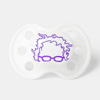 Bernie Sanders Purple Election Bernie Bern Logo Pacifier